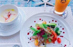 滋賀県大津市のハーバーレストランシェフ特製コースメニュー