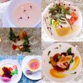 前菜・バケット・スープ・お肉料理orお魚料理