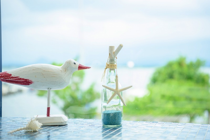 びわ湖を一望のロケーション